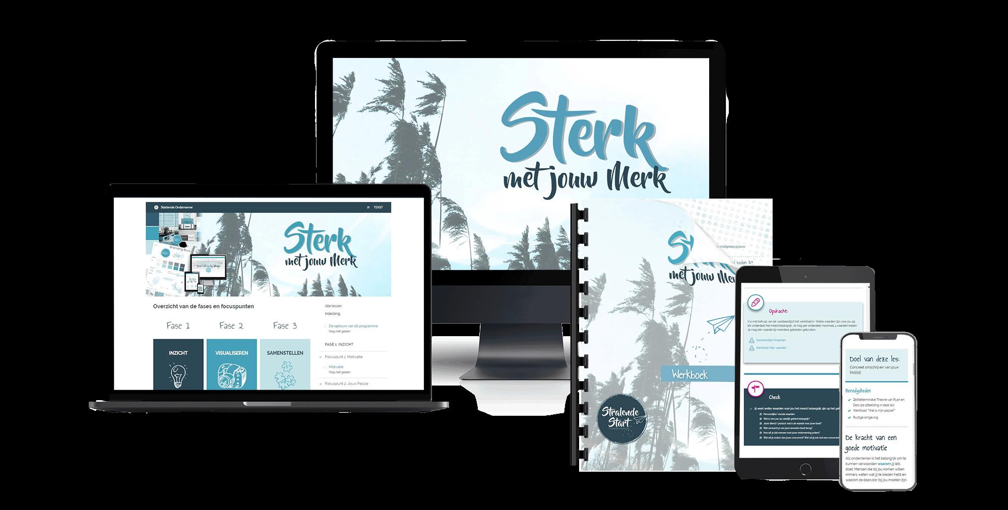 Sterk met jouw Merk - online training