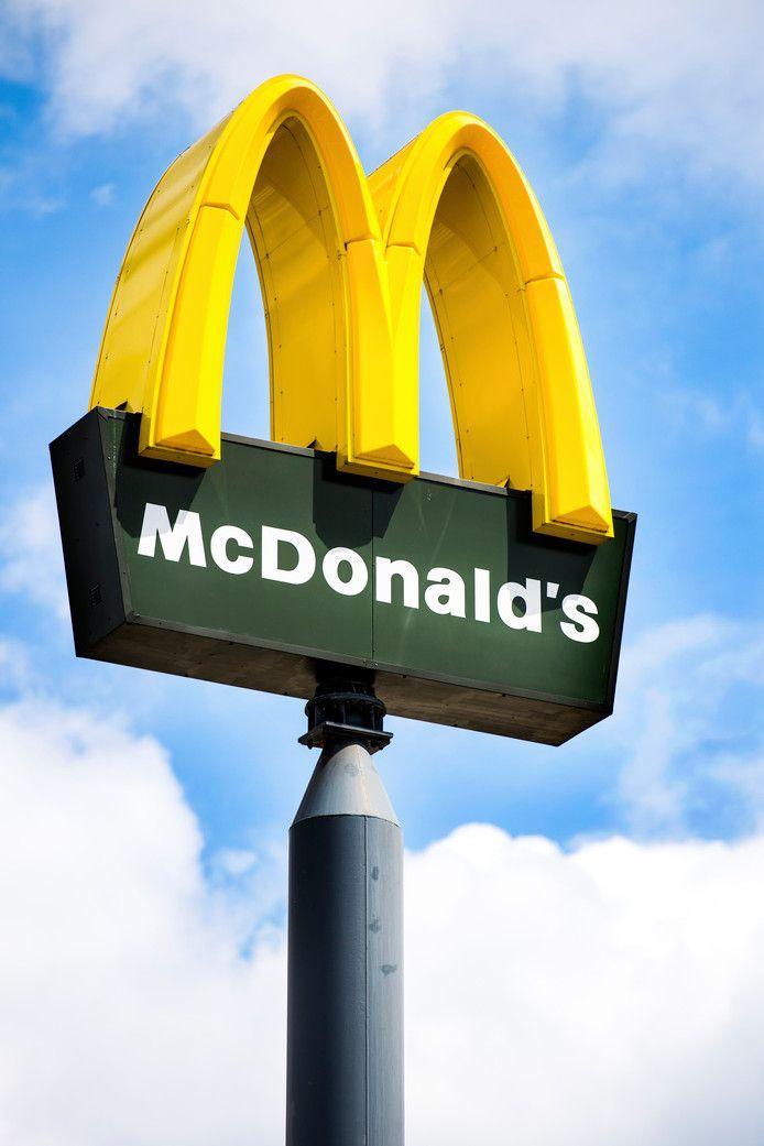 sterk logo McDonalds