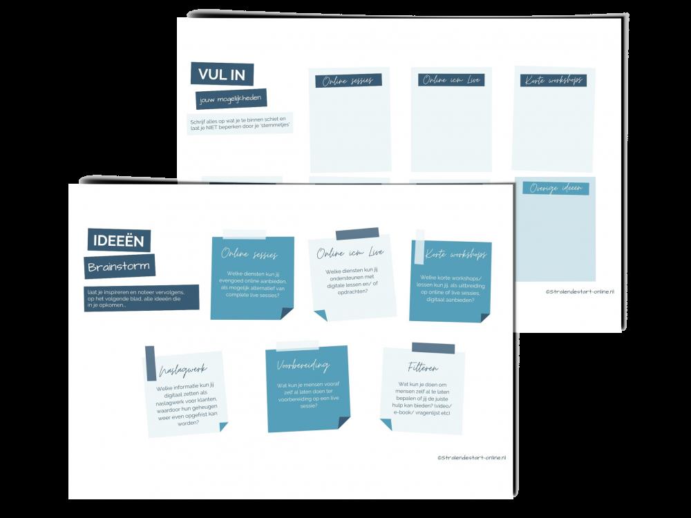 werkblad Brainstorm